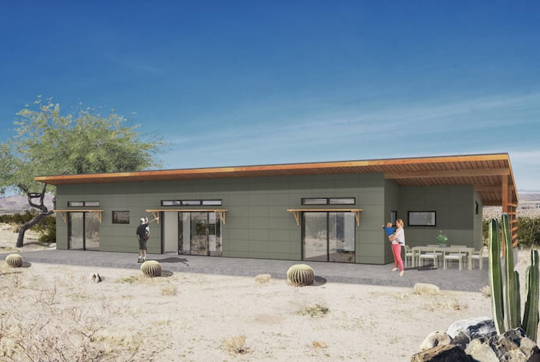 Baltic Sands Offers Joshua Tree Inspiration in House Design