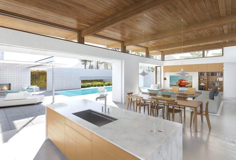 Turkel Design's Axiom Desert House Made for Palm Springs Climate