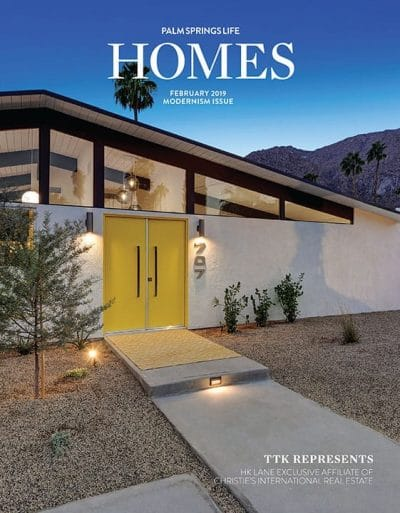 Palm Springs Life HOMES February 2019