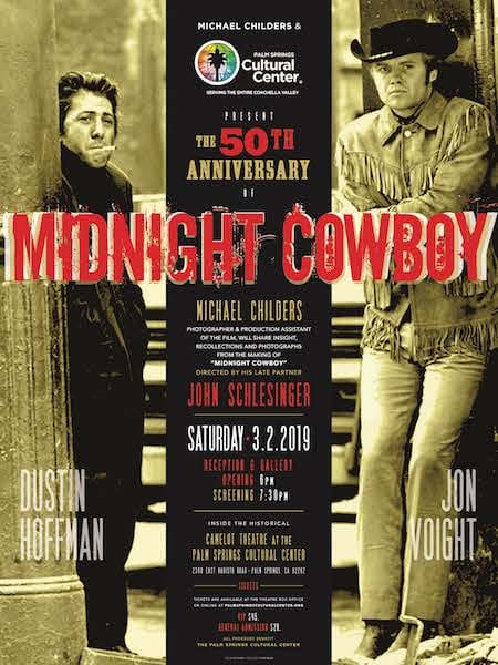 """""""Midnight Cowboy"""" Marks 50th Year With Michael Childers Chat"""