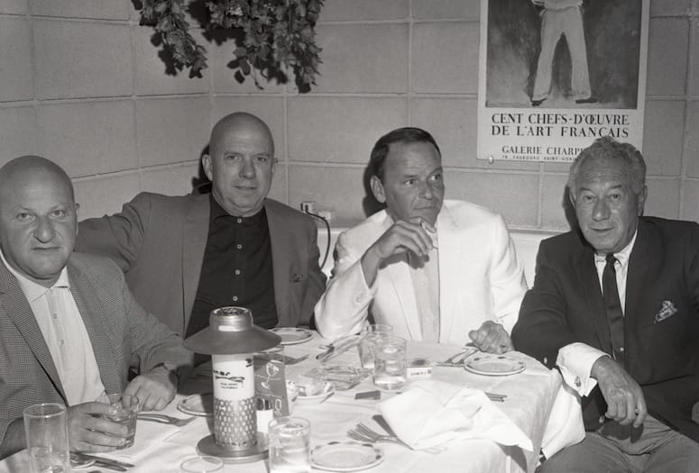 Frank Sinatra Brings Entourage to Palm Springs for Holidays 1961