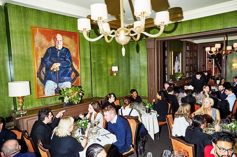 Palm Desert Food & Wine Dinner at The Beard House in New York City.
