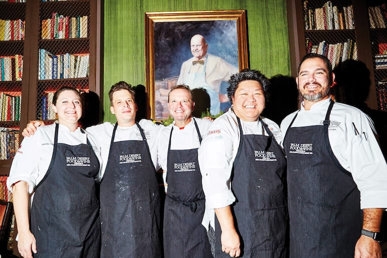 James Beard Luncheon Chefs