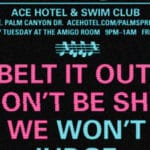Karaoke With Keisha Weekly at the Ace Hotel and Swim Club in Palm Springs