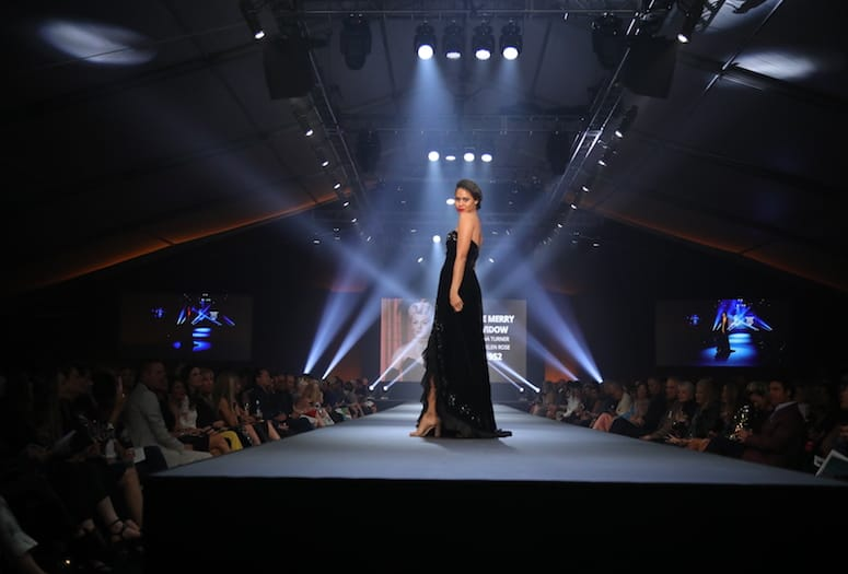 Fashion Week El Paseo Strikes Gold With Hollywood Glamour