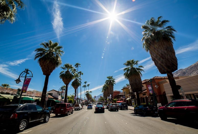 Palm Springs Showcases Businesses