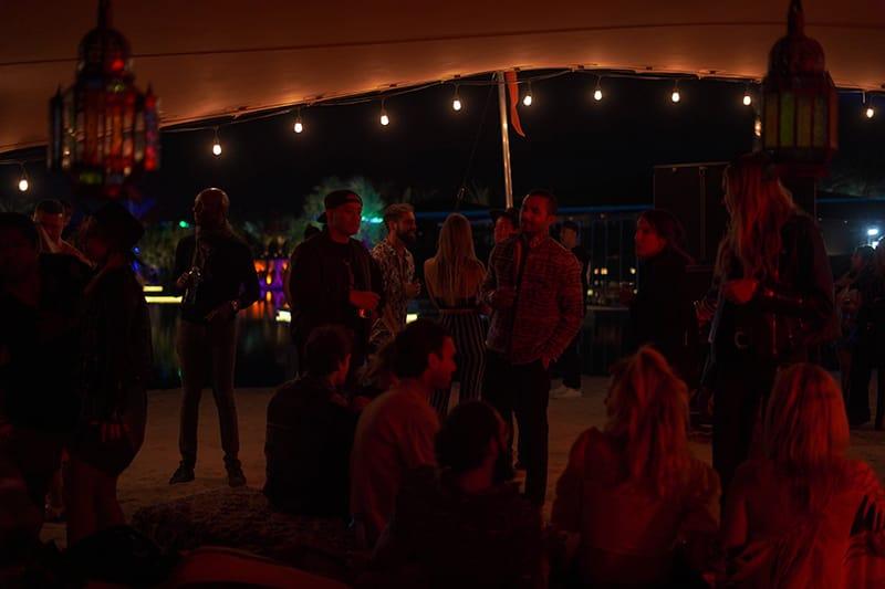 Zenyara Coachella Parties, Photograph by Nalani Hernandez-Melo