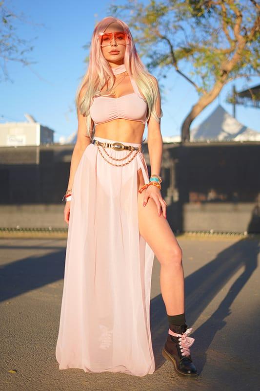 Faces of Coachella - Model, Kate Compton