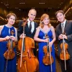 New York Philharmonic String Quartet Perform at the McCallum Theatre in Palm Desert