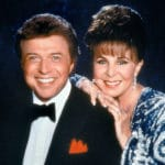 A Toast to Steve Lawrence & Eydie GormèWith David Lawrence and Debbie Gravitte at the McCallum Theatre in Palm Desert