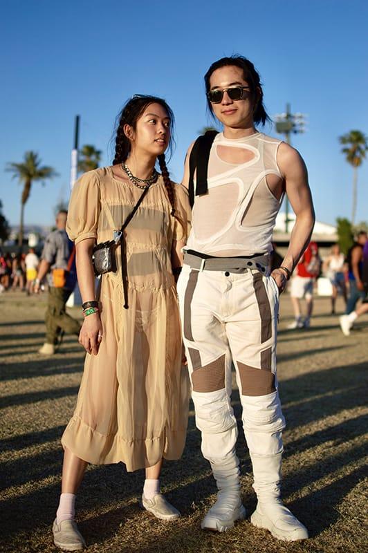 Coachella Couple fashion