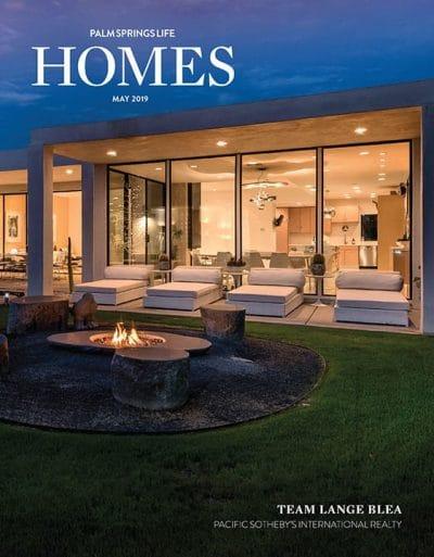 Palm Springs Life HOMES May 2019