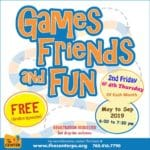 Games, Friends and Fun  at The Center in Palm Springs