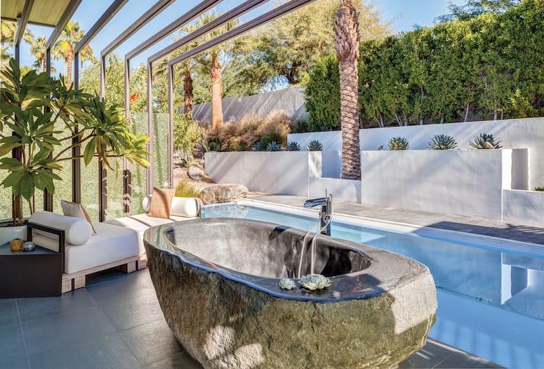 Dosooz palm desert bath tub