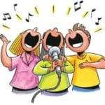 Mizell Sing Along Singers - Another Music Program at the Mizell Senior Center in Palm Springs