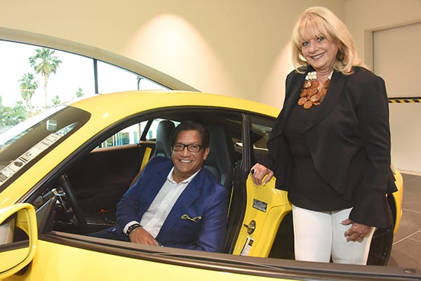 Top Realtors Celebrate at Porsche Palm Springs
