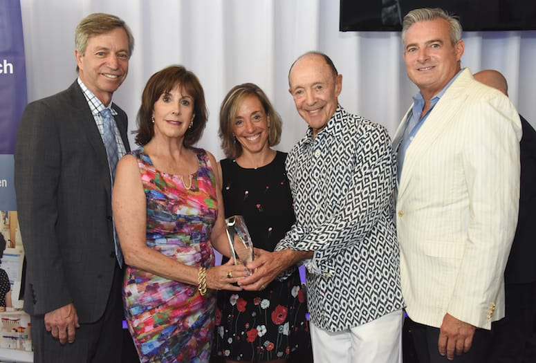 Israel Cancer Research Fund Honors Cancer Survivor