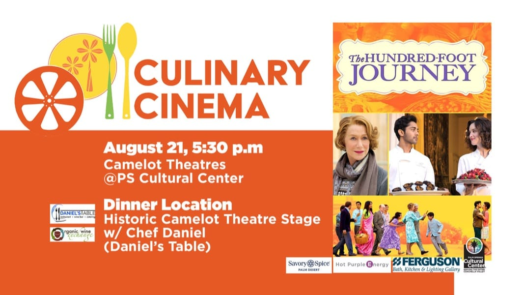 Palm Springs Cultural Center Partners With Accomplished Filmmaker Petra Haffter For New Culinary Cinema Program