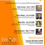Enrich Yourself Speaker Series at TheBank in Palm Springs
