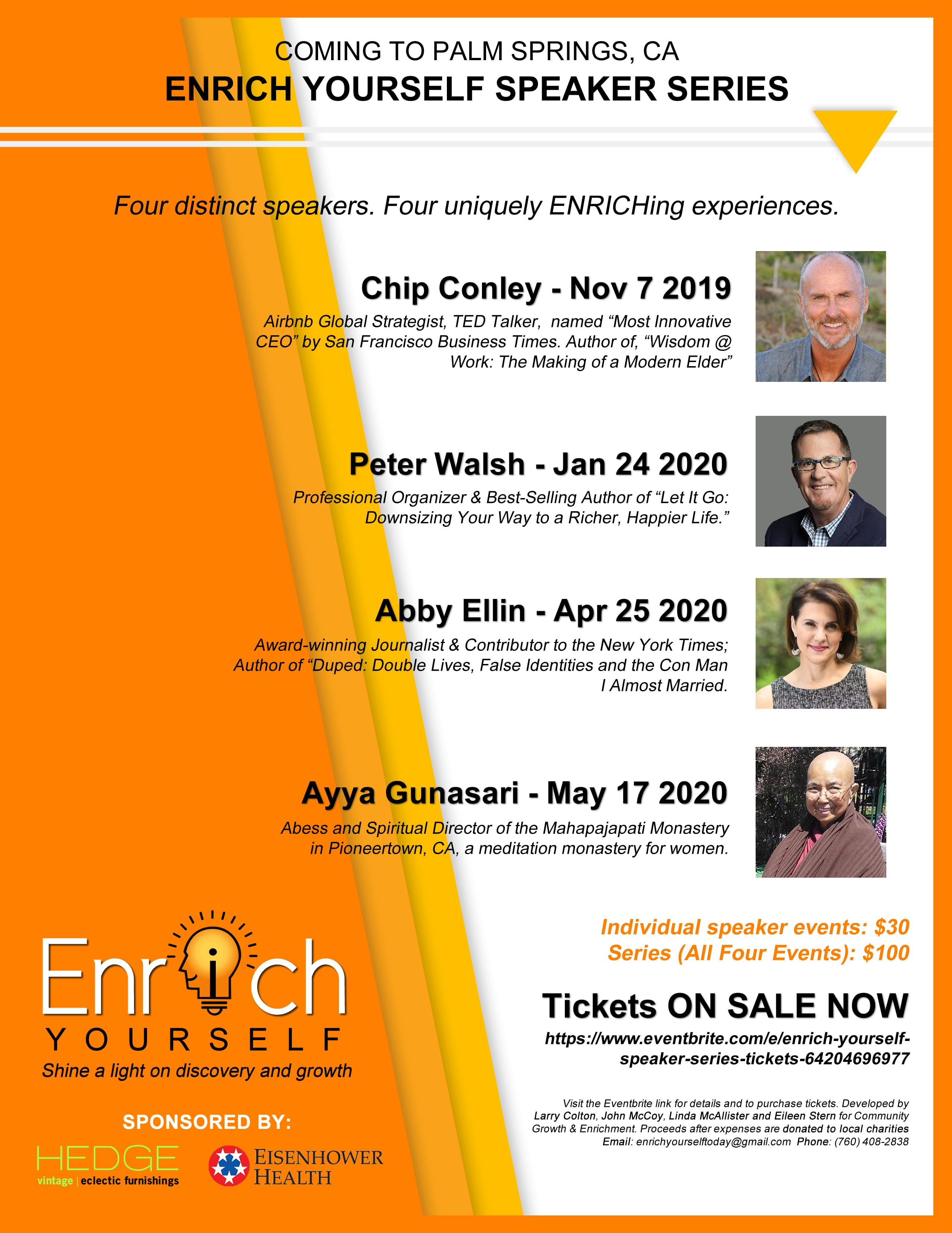 Best Indoor Tanning Lotion 2020 Enrich Yourself Speaker Series at TheBank in Palm Springs   Palm