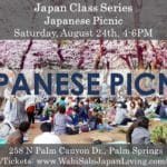 Japan Class Series: Japanese Picnic! Saturday, 8/24 4-6PM at Wabi Sabi Japan Living