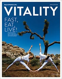 July 2019 Palm Springs Life Vitality Cover
