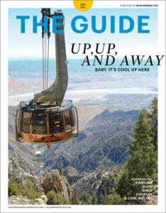 July 2019 Palm Springs Life Guide Cover