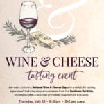 Wine & Cheese Tasting Event at Flemings Prime Steakhouse and Wine Bar at The River in Rancho Mirage