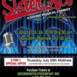 """Green Room Theatre Company Presents """"Sister Act: A Divine Musical Comedy"""" at Indio High School Performing Arts Center"""