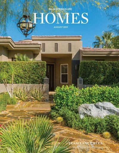 Palm Springs Life Homes August 2019