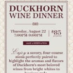 Duckhorn Wine Dinner at Sullivan's Steakhouse at the Gardens on El Paseo in Palm Desert