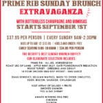 Fabulous Prime Rib Sunday Brunch Extravaganza at the Jackalope Ranch in Indio