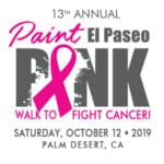 13th Annual Paint El Paseo Pink Walk to Fight Cancer in Palm Desert
