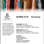 Vintage Market Fall Show: A Curated Collection at The Palm Springs Temple Isaiah