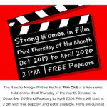 Rancho Mirage Writers Film Club Series at the Rancho Mirage Public Library