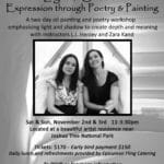 Light & Shadow: Expression through Poetry & Painting at Spikehorn Ranch in Joshua Tree
