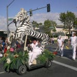 55th Annual Palm Desert Golf Cart Parade on El Paseo in Palm Desert