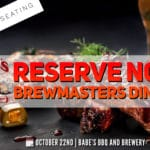 Exclusive Brewmasters Dinner at Babe's Bar-B-Que and Brewery in Rancho Mirage