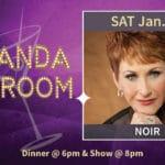 """Amanda McBroom, """"Noir"""" Presented at The Purple Room in Palm Springs"""