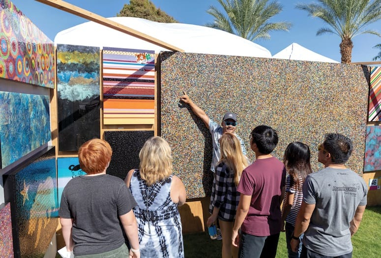 rancho mirage art affaire
