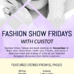Fashion Show Fridays at Cuistot on El Paseo in Palm Desert