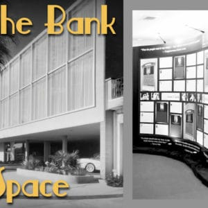The Bank with Text