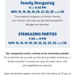 November Stargazing Events at the Rancho Mirage Library and Observatory