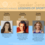 2020 Rancho Mirage Speaker Series: Legends of Sports at the Rancho Mirage Library