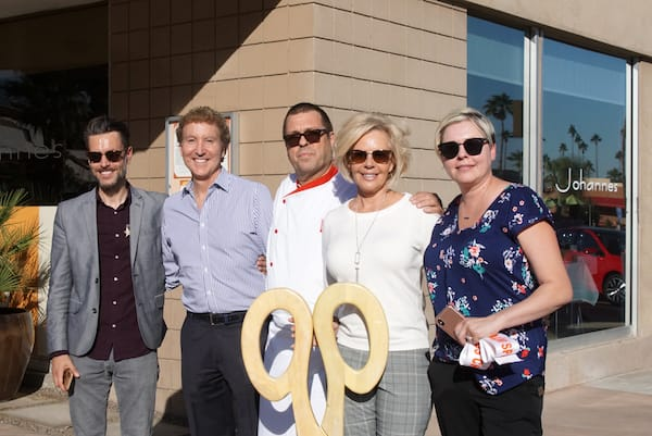 Johannes Commemorates 20 Years in Palm Springs