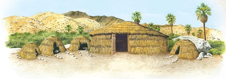 cahuilla indian home