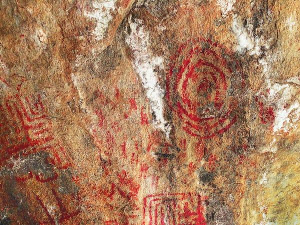 pictograph rock art