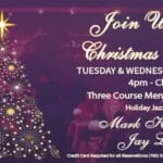 Join Us for Christmas Dinner at the Purple Room Palm Springs