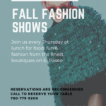 Fashion Show Lunches & Live Music Every Thursday at Mitch's on El Paseo in Palm Desert
