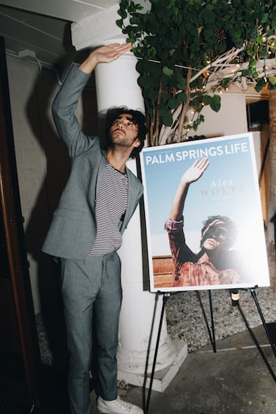 Alex Wolff Celebrates Palm Springs Life November Issue